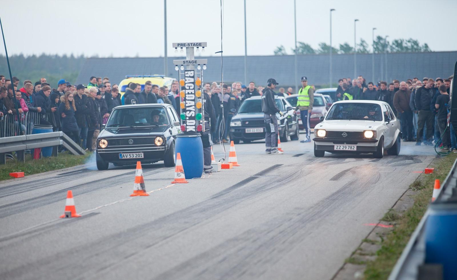 Lovligt streetrace i Skjern fortsætter i 2017