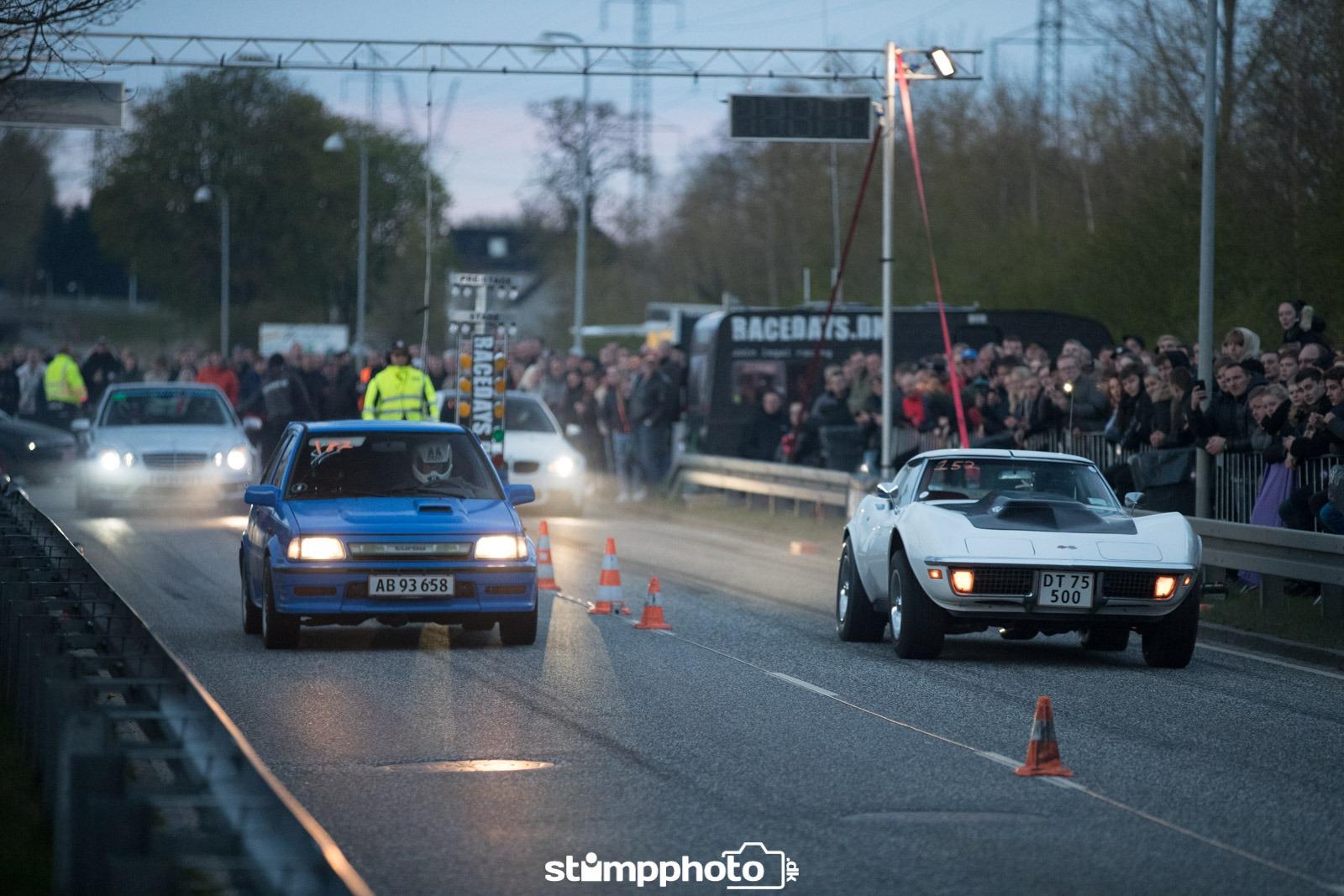 Sæson for lovlig streetrace fortsætter